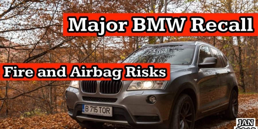 Major BMW Recall: Fire and Airbag Risks