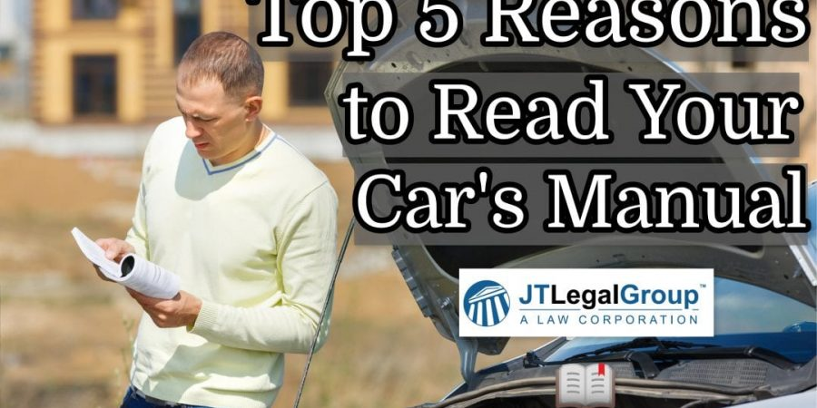 Top 5 Reasons to Read Your Car's Manual