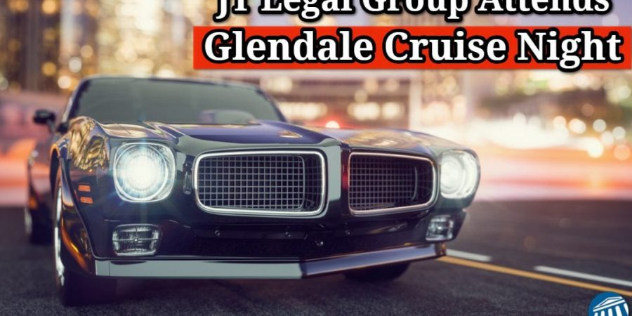 JT Legal Group Attends Glendale Cruise Night 2018