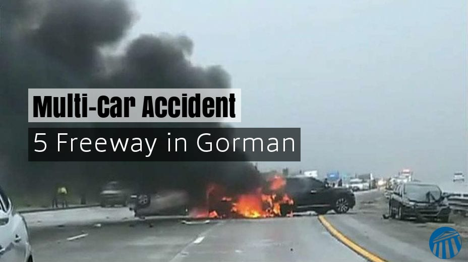 Multi-vehicle pile up on 5 Freeway in Gorman - JT Legal Group