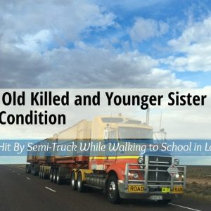 14 Year Old Killed and Younger Sister in Critical Condition