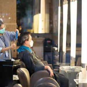 Hair Stylists Infected with Covid-19 Were Wearing Masks