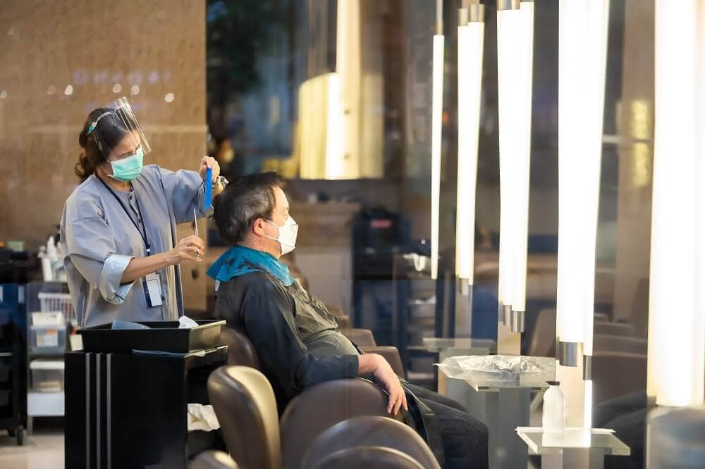 benefits of Wearing Masks for hairstylists
